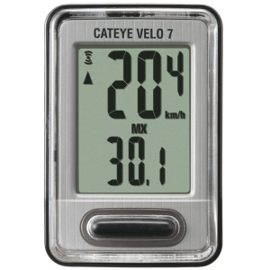 Cyclomètre Cat Eye Velo 7