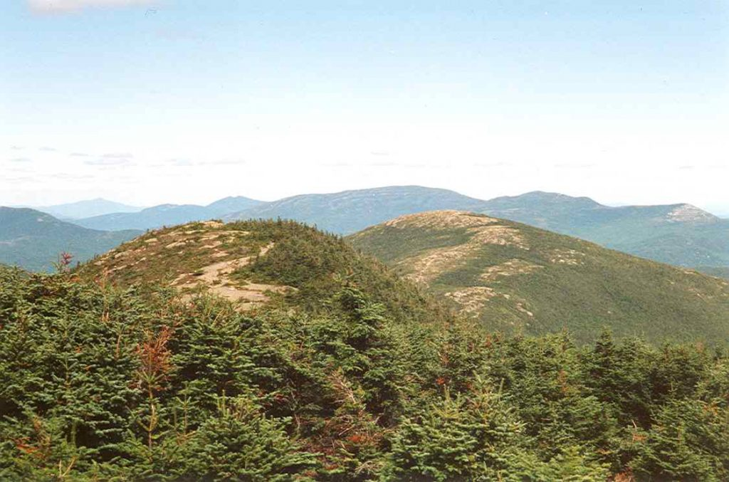 The_Horn_(R)_from_Saddleback_Mt_Maine _ Photo Petersent